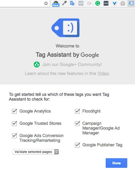 google tag assistant 2